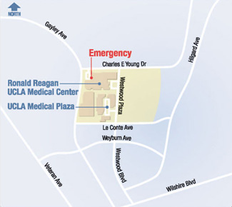 Relvon/UCLA Breast Center area location